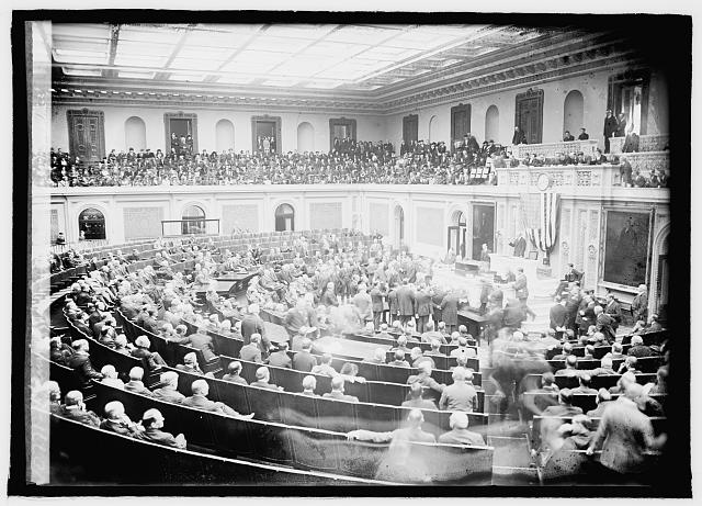Opening of Congress, Dec. 1920