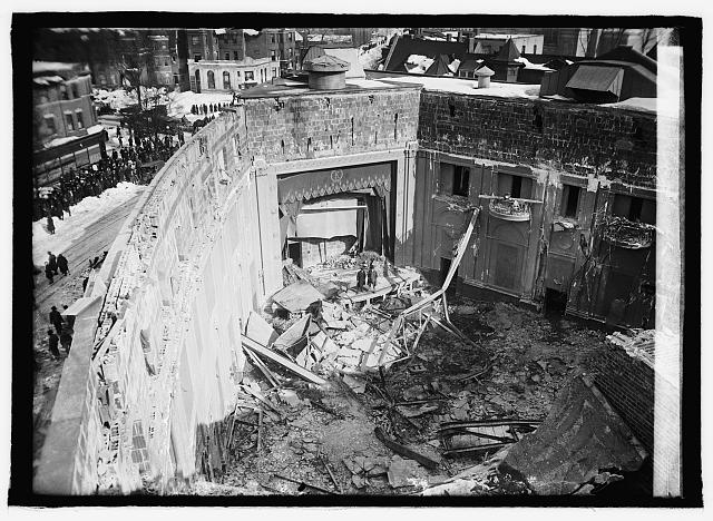 Knickerbocker Theater disaster, [1/30/22]
