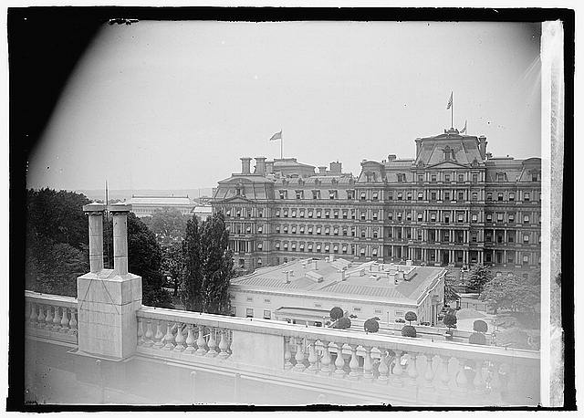 State, War & Navy [Building] from White House [...]