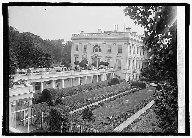 White House, west terrace