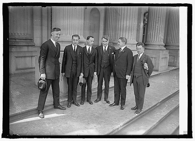 Royal Copeland & World War vets of Liberty, N.Y., 4/12/24