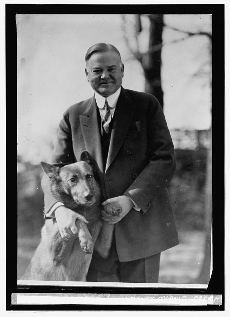 Hoover with King Tut
