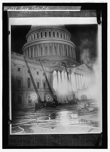 Fire, Capitol, [Washington, D.C.]
