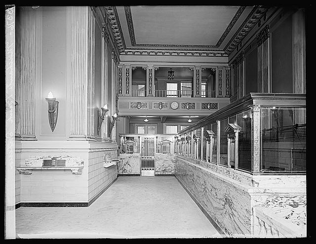 Merchants Bank interior