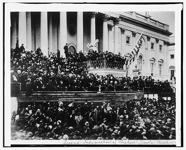 Lincoln [second] Inauguration, 1884 [i.e. 1865]