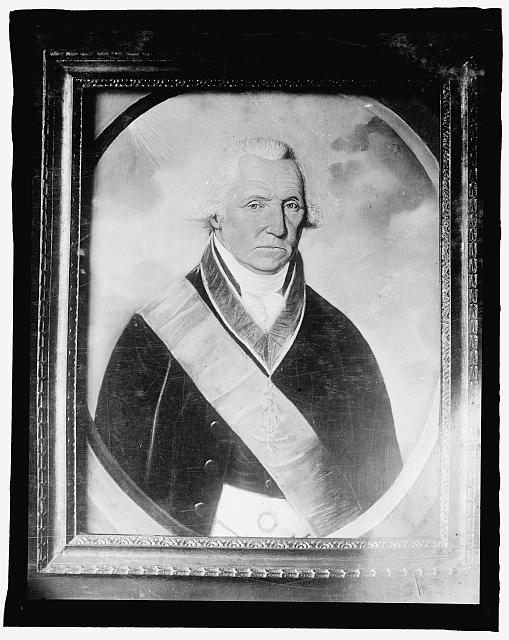 Portrait of Washington as a Mason