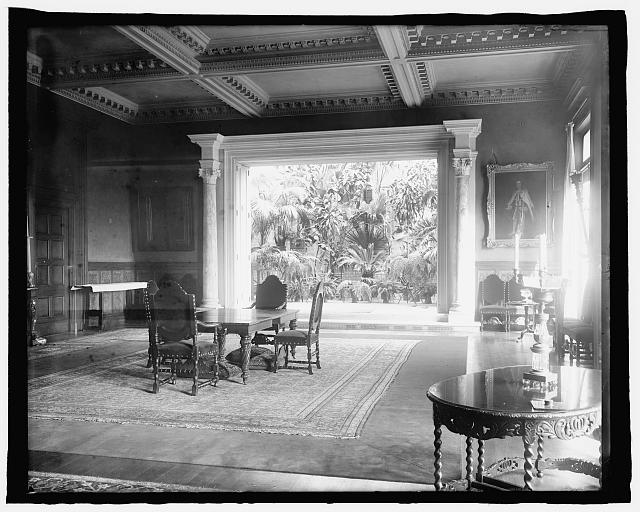 Residence of Breckenridge Long (Interior), 2829 16th Street, N.W., Wash., D.C.
