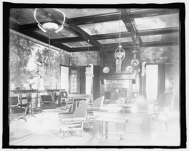 Residence of Breckenridge Long (Interior), Wash., D.C.