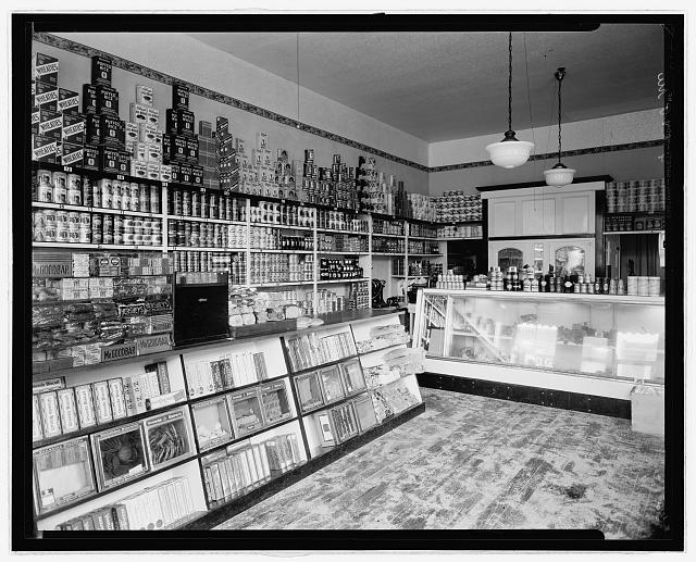 Interior of D.G.S. Store, 9th & P Sts., N.W., Wash., D.C.