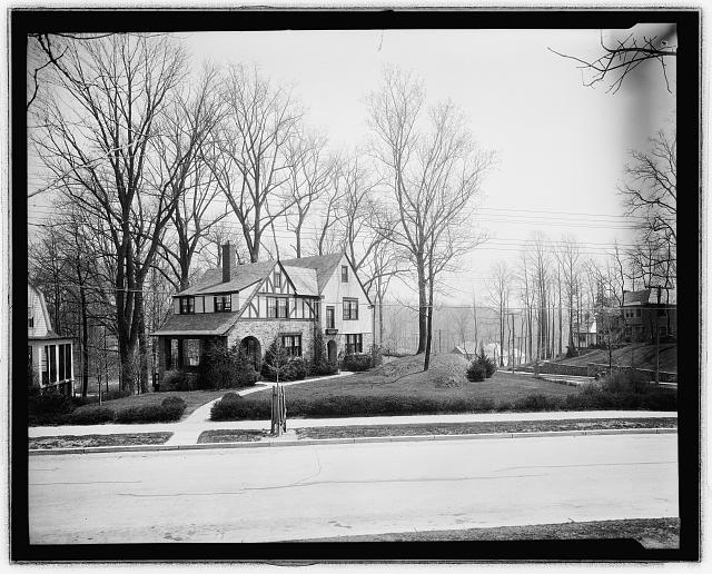 View of house, Wash., D.C.