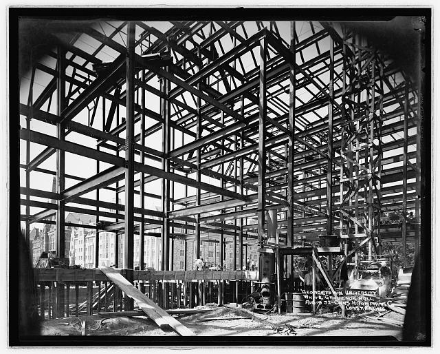Georgetown Univ., [Washington, D.C.], construction, White Gravenor bldg., Oct. 18, '32