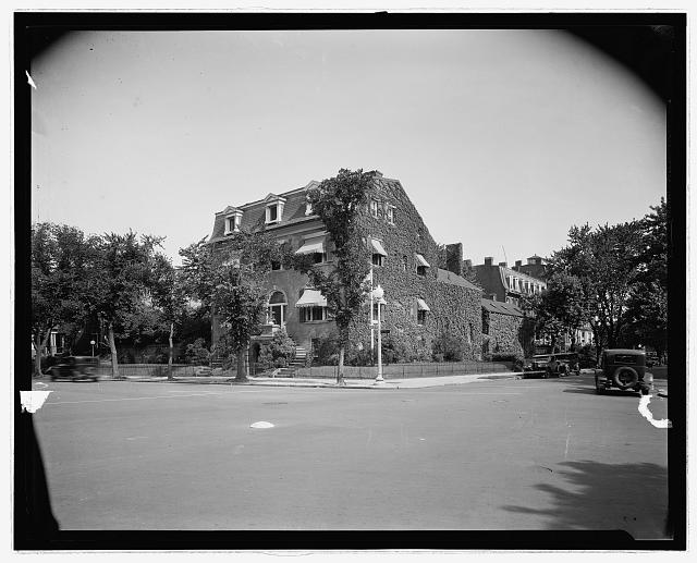 Women's Party, house, Wash., D.C.