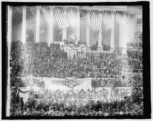 Woodrow Wilson Inauguration, [Washington, D.C.], Mch. 4 [i.e., March 5], 1917