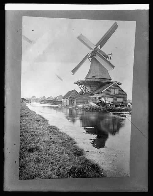 Holland. Saw mill at Zaandan