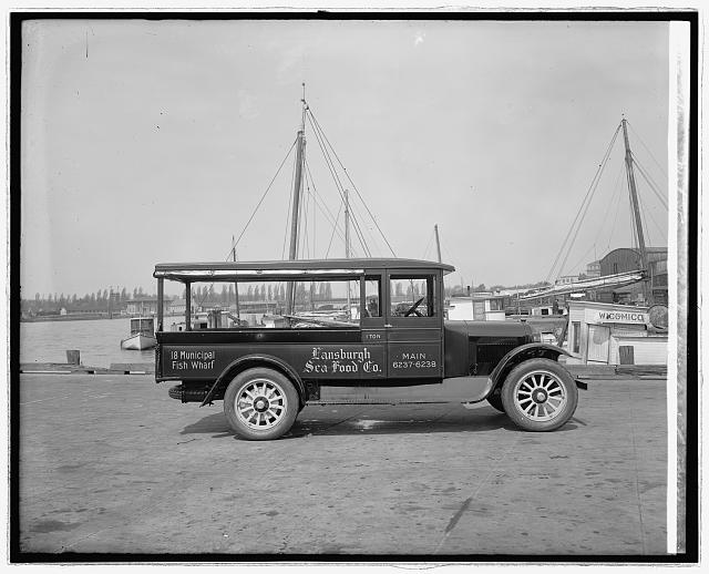 Semmes Motor Co. Lansburgh Sea Food truck, [1926]