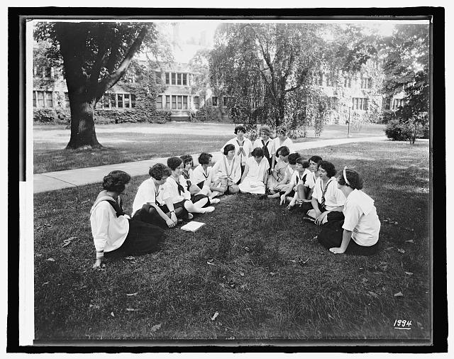 Labor summer school for women workers, Bryn Mawr College, [Bryn Mawr, Pennsylvania]