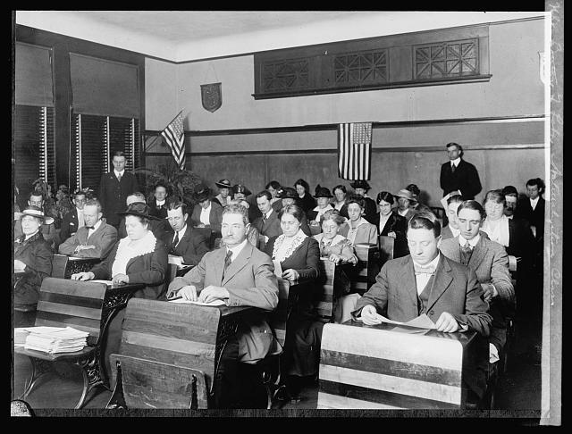 Bureau of Labor, Naturalization class
