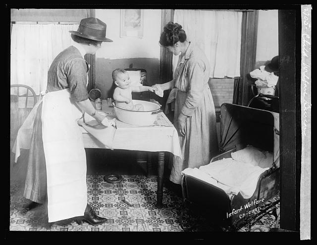 Child Welfare Bureau: Infant Welfare, Chicago