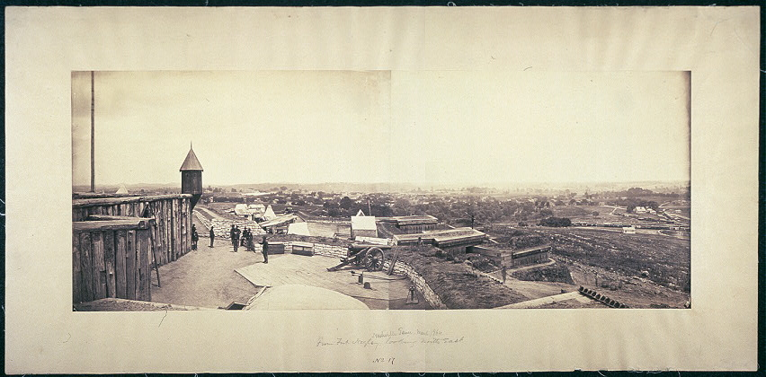 [Nashville, Tenn., from Fort Negley looking northeast]