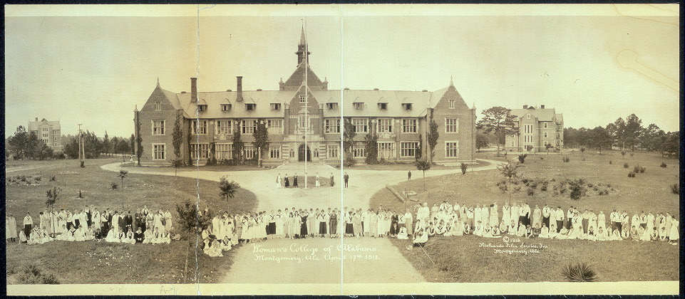Woman's College of Alabama, Montgomery Ala., April 17th, 1918