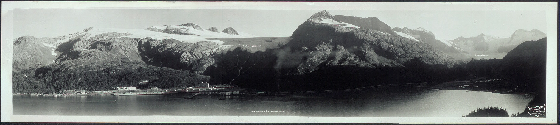 Whittier, Alaska, Aug. 16th, 1957