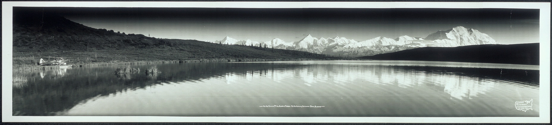 Mt. McKinley and the Alaska Range, Mt. McKinley National Park, Alaska