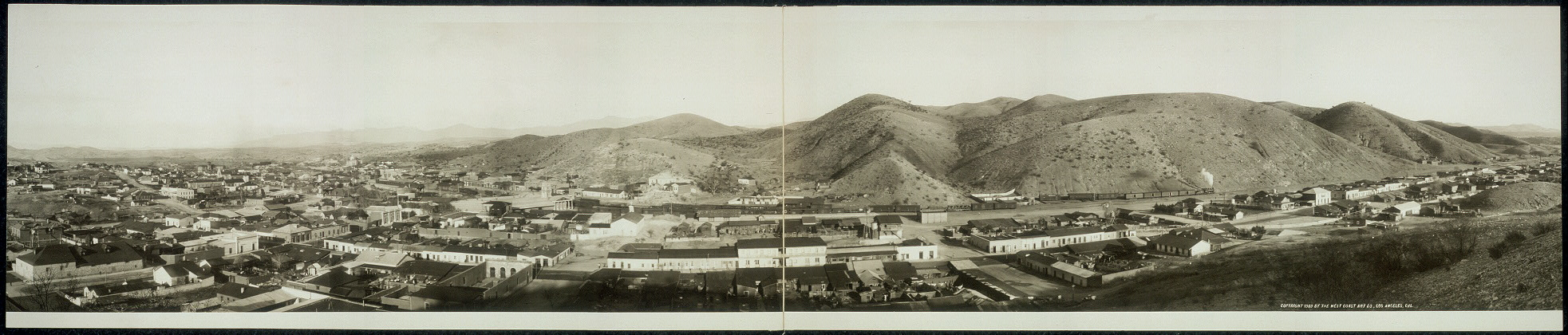Panorama of Nogales, Arizona