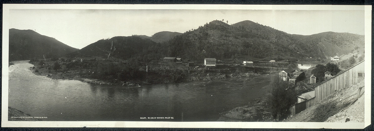 Bagby, on line of Yosemite Valley R.R.