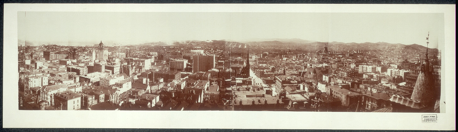 Panorama of San Francisco, Cal. from Hopkins Institute