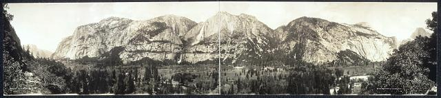 Panorama of Yosemite Valley