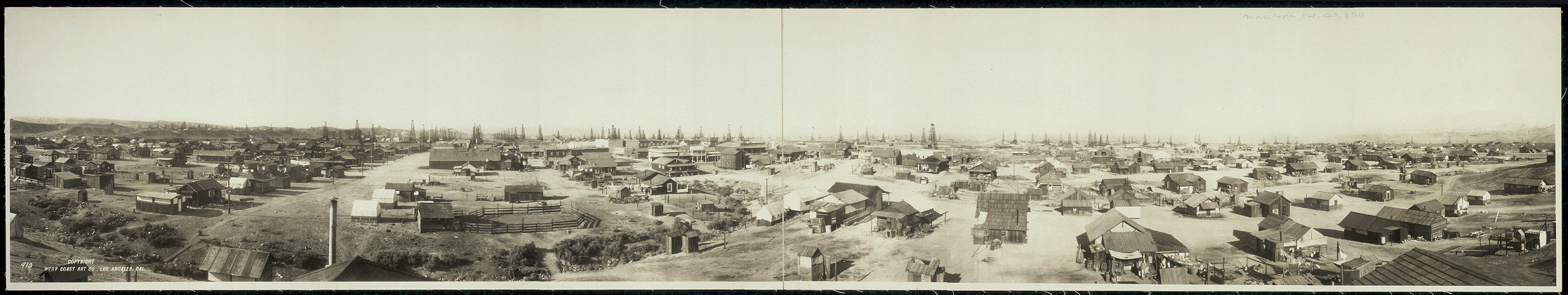 Maricopa, California, Oct. 7th, 1911