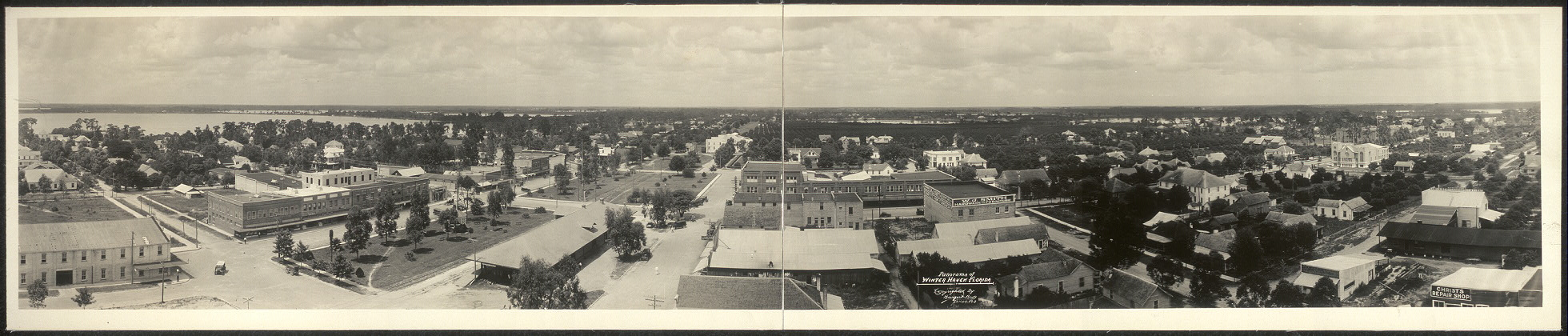 Panorama of Winter Haven, Florida
