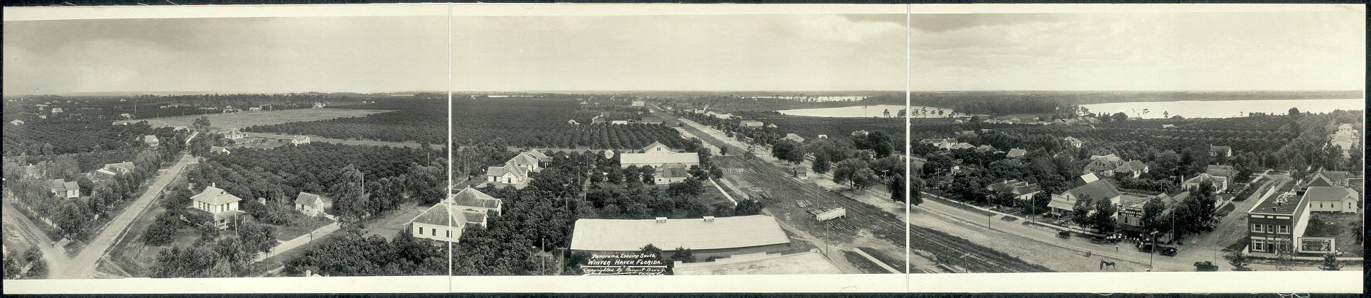 Panorama, looking south, Winter Haven, Florida