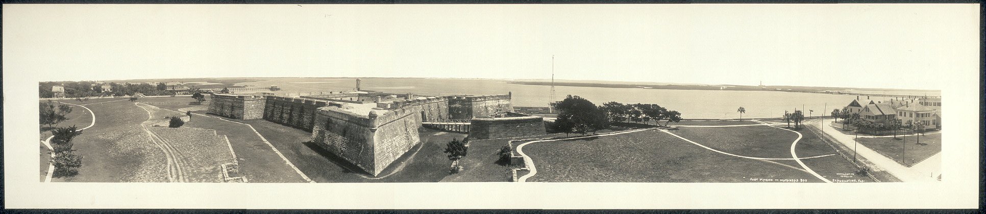 Fort Marion on Matanzas Bay, St. Augustine, Fla.