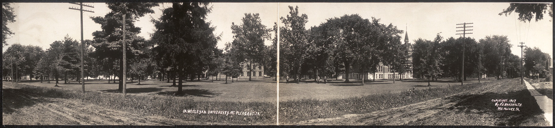 Ia. Wesleyan University, Mt. Pleasant, IA