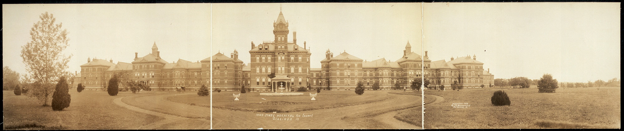 Iowa State Hospital for Insane, Clarinda, IA