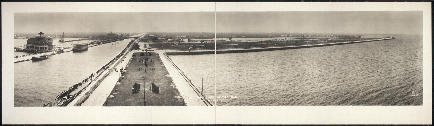 West End Lake Shore Park, New Orleans, 1915