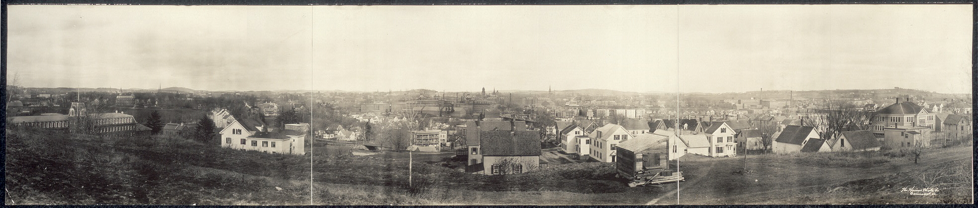 Panorama of Lewiston, Me.