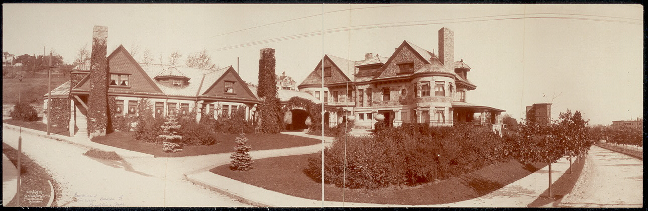 Residence of Mr. Weber, Beacon St., Brookline, Mass.