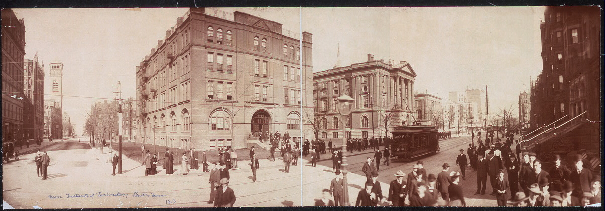 Mass. Institute of Technology, Boylston St., Boston, Mass.