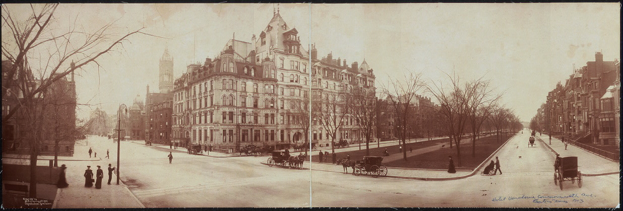 Hotel Vendome, Commonwealth Ave., Boston, Mass.
