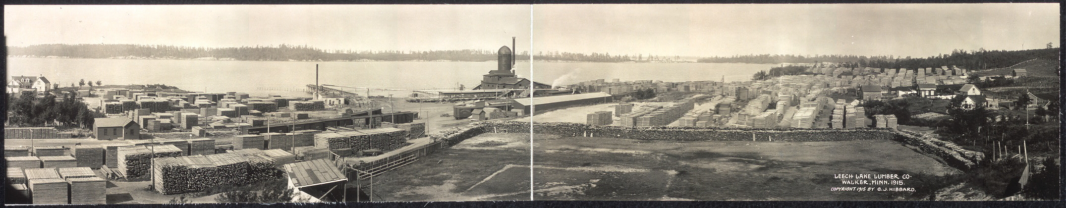 Leech Lake Lumber Co., Walker, Minn., 1915