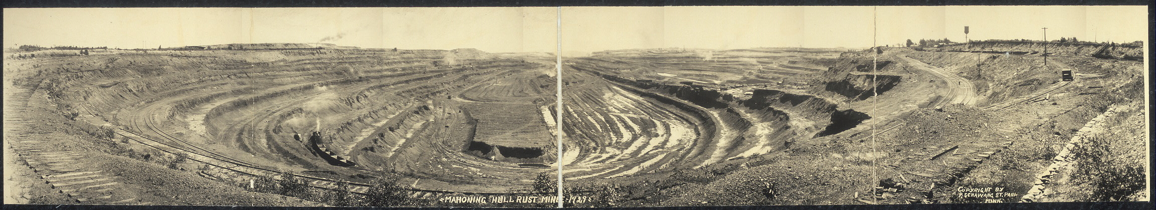 Mahoning Hull Rust Mine, 1929