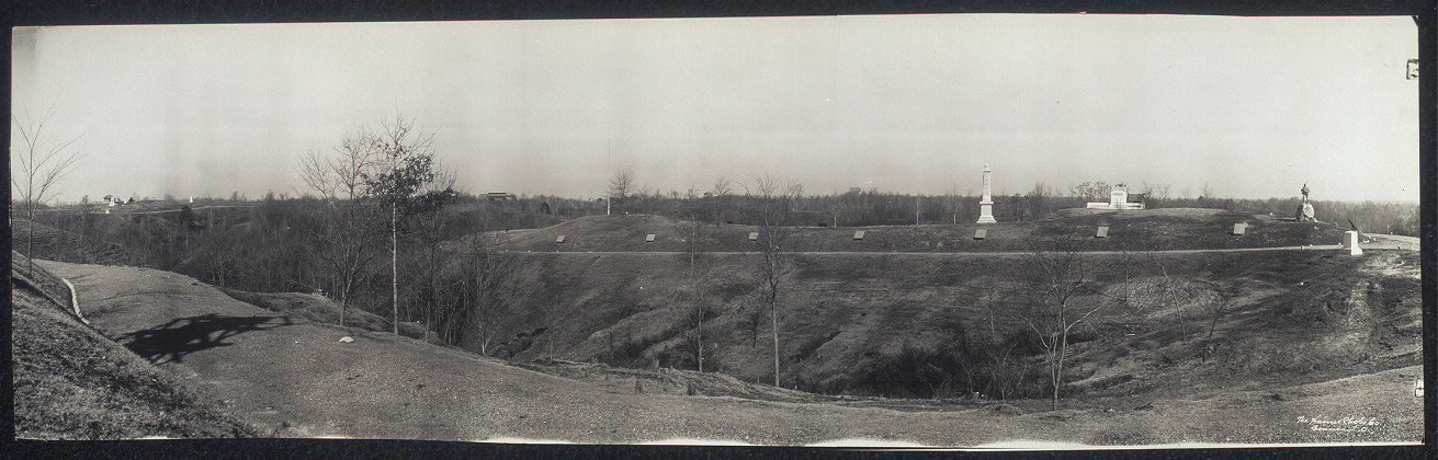Panoram no. 6, battlefield, Vicksburg, Miss.
