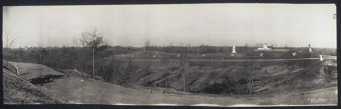 Panoram no. 6, battlefield, Vicksburg, Miss.