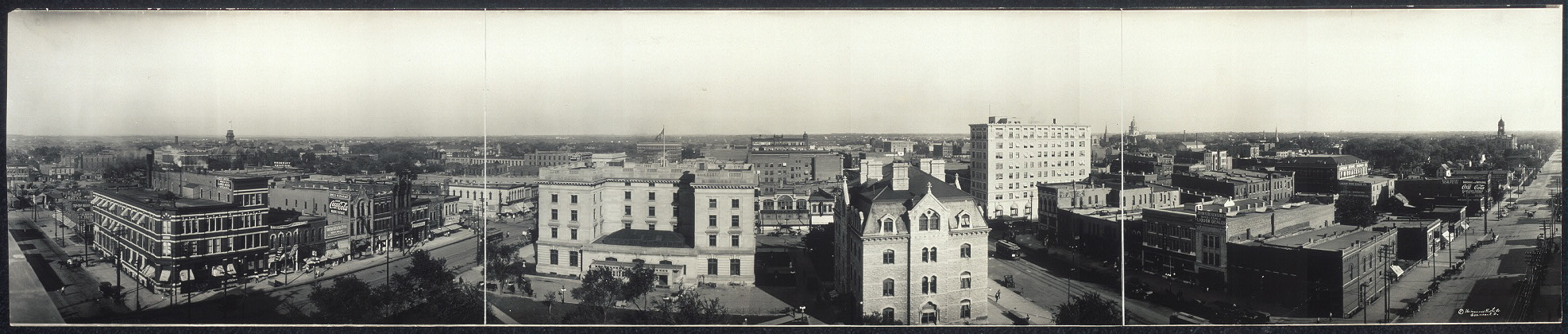 Panorama of Lincoln, Neb.