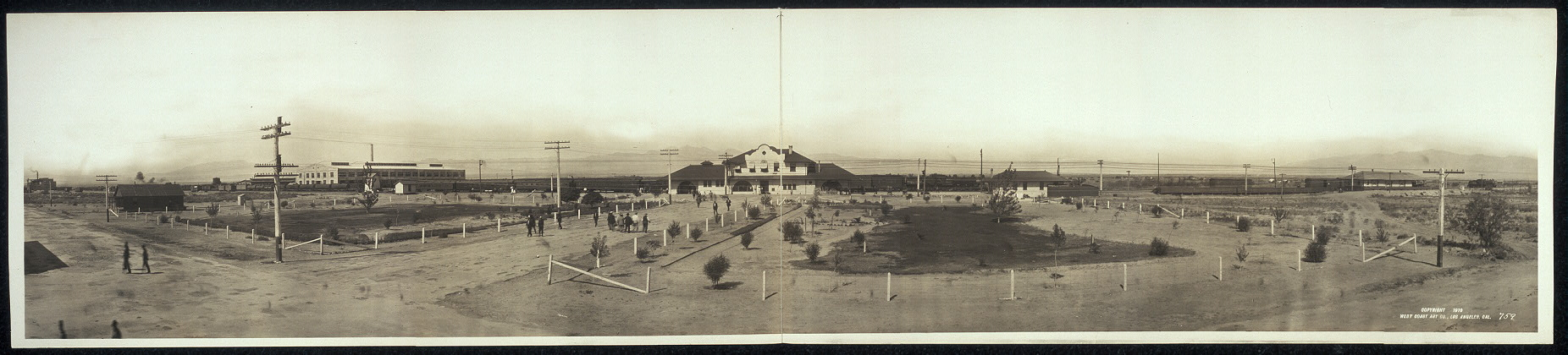 St. Lake Ry. Depot at Las Vegas, Nevada
