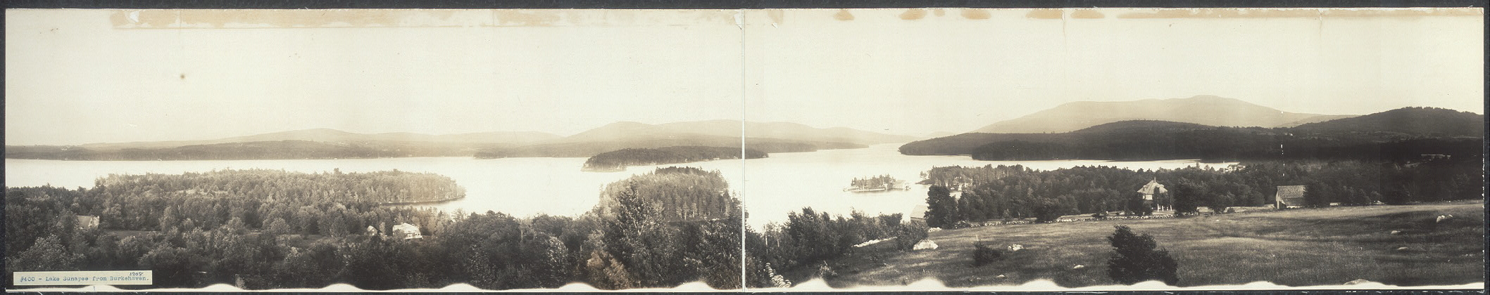 Lake Sunapee from Burkehaven