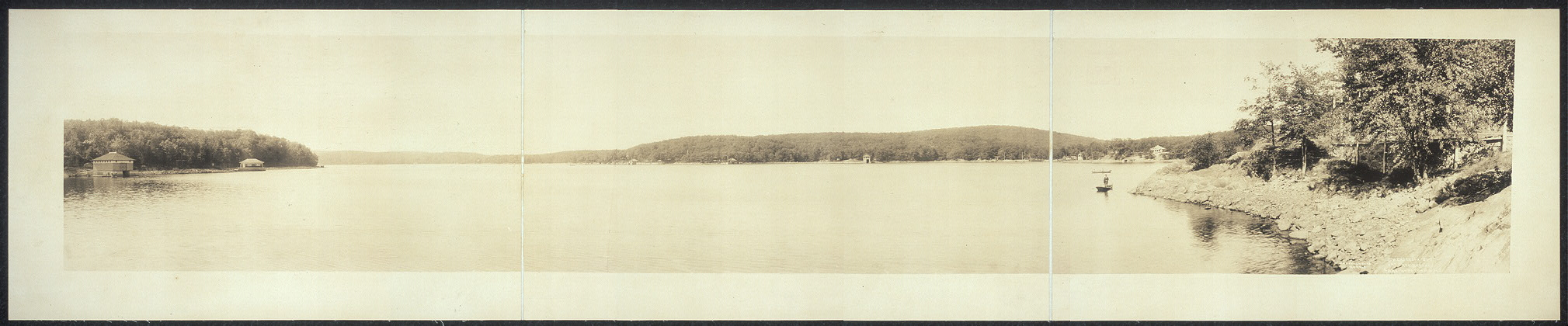 Henderson Bay from Rex Beaches, Lake Hopatcong, N.J.