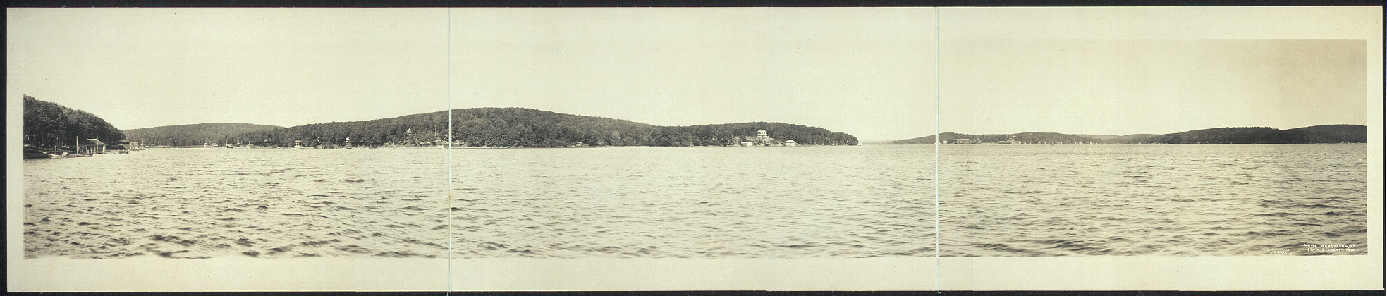 Lake Hopatcong, N.J. from Pickeral Point